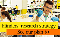 Flinders University''s research strategy