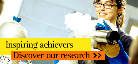 Inspiring achievers. Discover our research.