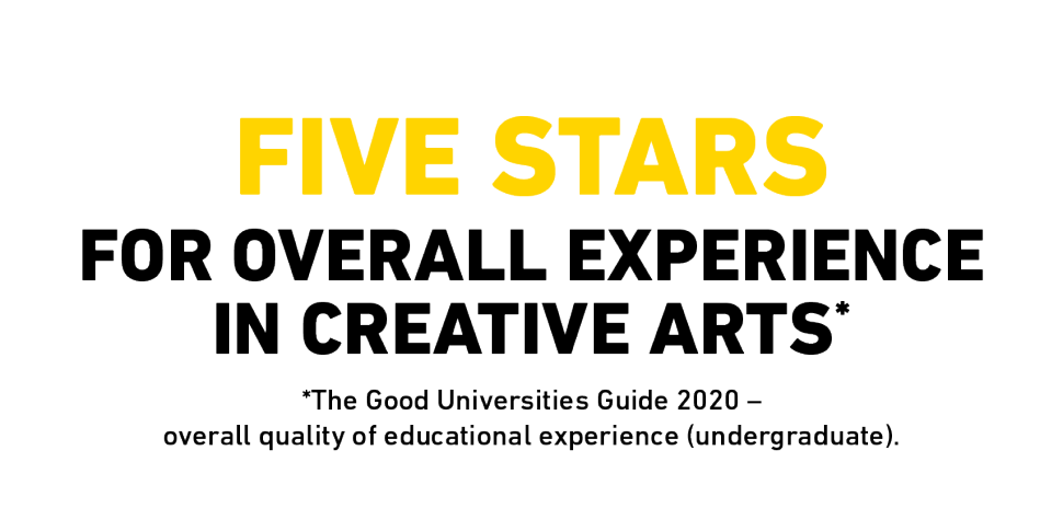 5 stars for overall experience in creative arts