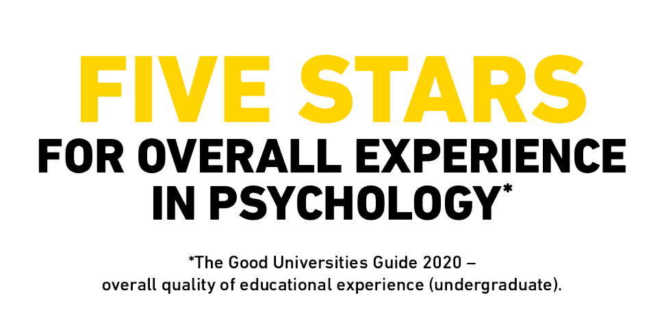 Five stars for overall experience in psychology