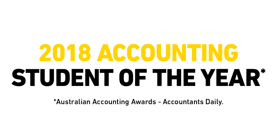 2018 Accounting Student of the Year
