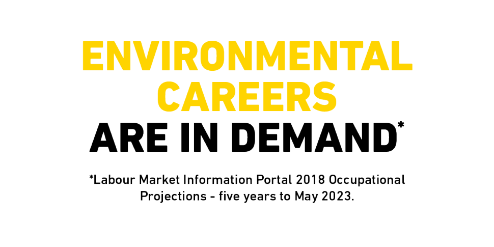 Environmental Careers are in demand