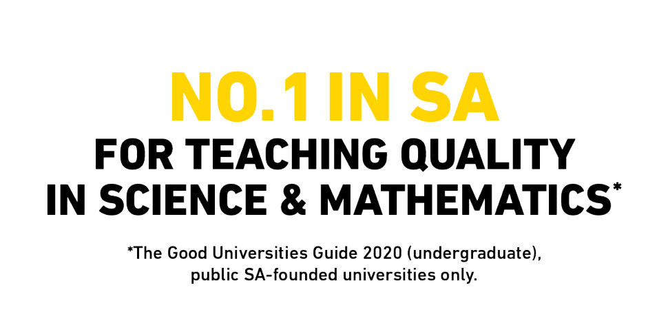No.1 in South Australia for Teaching Quality in Science and Mathematics