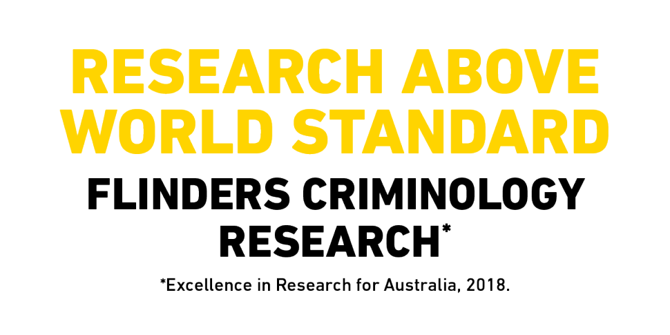 Research above world standard for criminology research