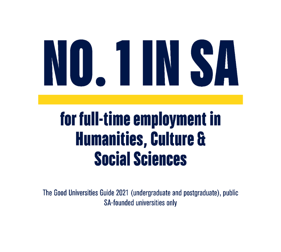 No.1 in SA for full-time employment in Humanities, Culture & Social Sciences