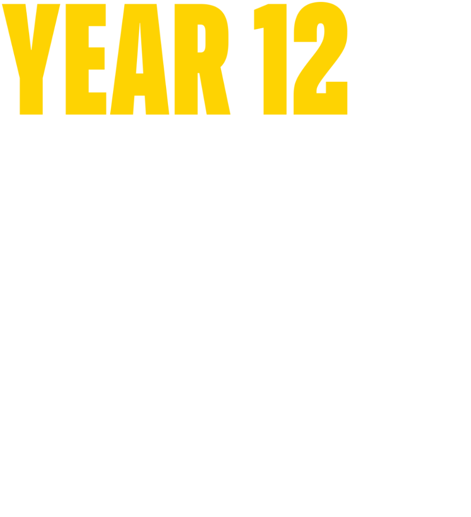 Year 12 Enhanced Tour Program