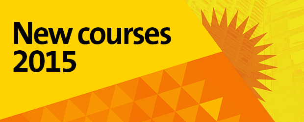 New courses 2015